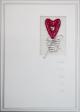 15 x Fine Handmade Valentine Greeting Card (HM347)
