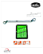 MM-MK-1103M-26 - Mr. Mark 30x32mm 75° Offset German Panel Double Ring Wrench