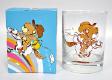 4 x Decorative Whisky Glass With Box (W30)