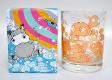4 x Decorative Whisky Glass With Box (W28)