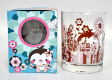 4 x Decorative Whisky Glass With Box (W27)