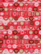 30 x Decorative Valentines Day Wrapping paper (WP985)