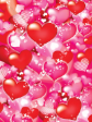 30 x Decorative Valentines Day Wrapping paper (WP980)