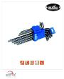 7pcs Extra Long Arm Star Key (Plastic Holder + Slide Card) (MK-3512M) - by Mr. Mark Tools