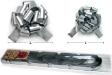 RL04(L) - Pull Ball Silver Ribbons (L)