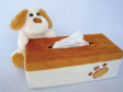 5 x Doggie Theme Tissue Coveralls For Standard Tissue Box (TTB1002)
