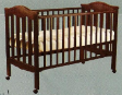Cot Bed 4 in 1 SD865 with Latex Matress Package