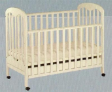 Baby Cot 823-D with Latex Matress Package