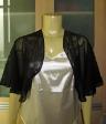 New Black Flare Shrug Bolero Cardigan size US 14 AU 18