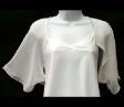 New White Flare Shrug Bolero Cardigan size US 14 AU 18 Please wait Image not available      * Enlarge    New White Flare Shrug Bolero Cardigan size
