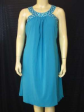 New Blue Jewel Party Cocktail dress Plus Sz US 18 AU 22