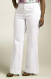 New Comfy Plus size white denim Jeans Pants 18 to 22