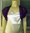 New Sexy Elegant Purple Bolero Cardigan sz US 20 AUS 24