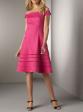 Fuchsia Pink Cocktail Party Dress Plus Size AU 24 US 20