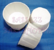 Mini cake/petit four paper case/cup-WHITE-pleated-5.5cm