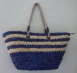 Blue Cornhusk Bag