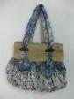 Flower Blue + Cornhusk Bag
