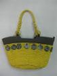 Yellow Cornhusk Bag