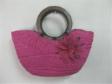 Pink Cornhusk Bag