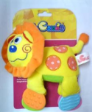 Coloria Teething Squeakies Ratting Toy Lion