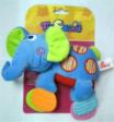 Coloria Teething Squeakies Ratting Toy Elephant