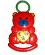 SIMPLE DIMPLE My 1st Toy Musical Bear Rattle With Flashing Light