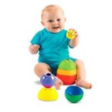 FISHER PRICE Brilliant Basics Stack & Roll Cups