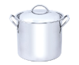 Stock Pot with S/Steel Riverted Handle