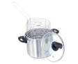 4 QT Chip Fryer with Glass Lid