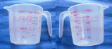 Clear Plastic Measuring cup 500ml/2cup