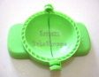 Pastry/Tart/Curry Puff Shell Maker,Crimper-GREEN 7cm