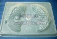 MEDIUM KOI FISH Clear Plastic Jelly mould,14cm x 9cm
