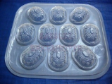 ANG KU/CHINESE TURTLE Clear Plastic Jelly Mould-NEW