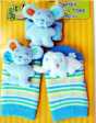 BUMBLE BEE Rattlin Wrist & Toes Mouse Elephant