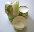Muffin Cake Baking Paper Cups/Case-GREEN STARFRUIT-L-20pcs