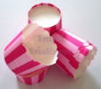 Muffin Cake Baking Paper Cups/Cases-PINK STRIPES-20pcs
