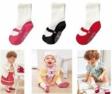 3 piece COMBIMINI Anti Slip Girl Socks