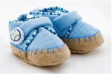 TINY TOUCH Baby Slippers - Blue