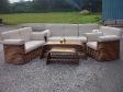 Sofa Set - Rose
