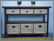 Collections - Rattan Cabinet