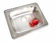 AQRIX Single Bowl Stainless Kitchen Sink (B 6450/6 SBF)
