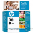 HP Black Inkjet Print Cartridge C-6656AN (HP 56)