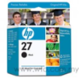 HP Black Inkjet Print Cartridge C-8727AN (HP 27