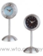 Silver Stand Clock