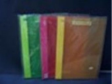 Files, Pocket And Binders - Shuter Transparent Colourful Display Book