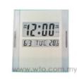 Digital Wall Clock & Calendar KK-3886