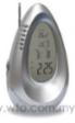 Radio Calendar Clock With Temperature Display UI-661