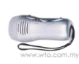 AM/FM Radio Flashlight With Siren