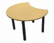 ESTIC Floral Dock Table - Beech Colour