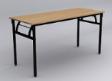 VELTINA Foldable Table - Beech Colour - 1200(W) x 600(D) x 760(D)